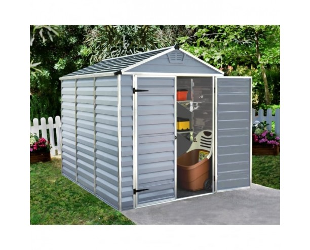 Palram Skylight Grey 6x8 shed