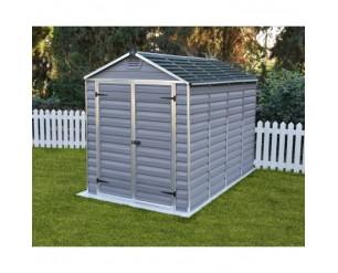 Palram Skylight Grey 6x10 shed