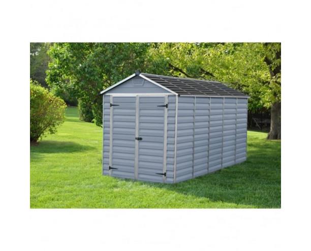 Palram Skylight Grey 6x12 shed