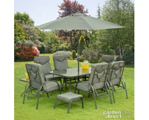 Candosa Garden Furniture - Candosa 11 Piece Set