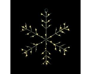 Christmas LED Fairy Lights B/O 30cm Snowflake - INDOOR