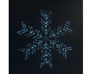 Christmas LED Fairy Lights 75cm Snowflake