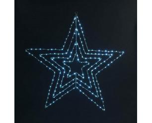 Christmas LED Fairy Lights 80cm Star