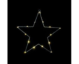 Christmas LED Fairy Lights B/O 30cm Star - INDOOR