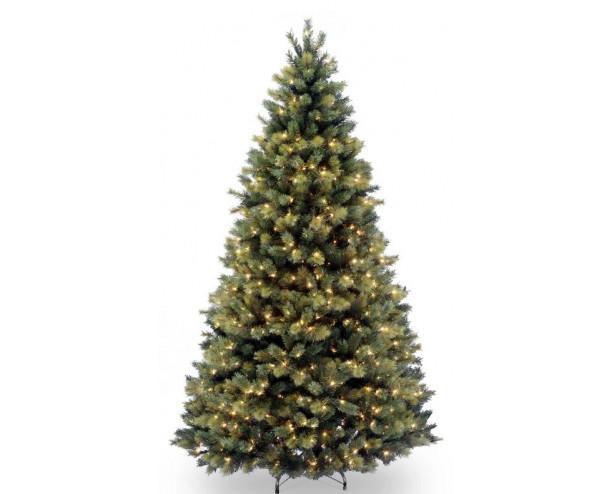 7ft (210cm) Pre-Lit Devonshire Pine