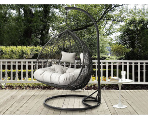 'Lovely' Double Cocoon Egg Chair