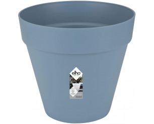 elho Loft Urban Round Flower Pot 50 cm - Vintage Blue