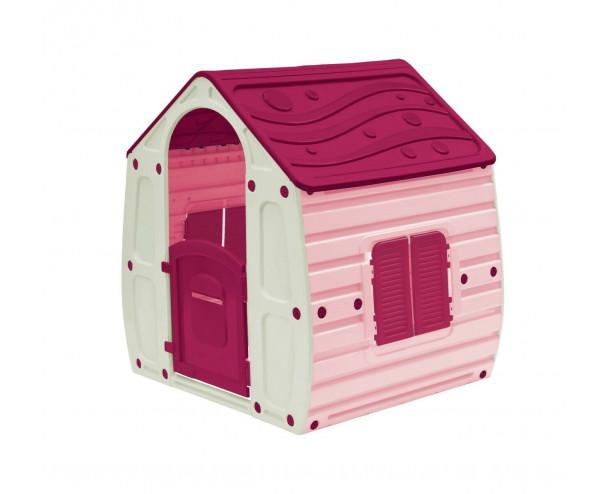 Starplast Pink Children's Playhouse Wendy House