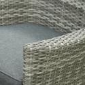 Sarasota Rattan Garden Dining Set - 2 Seater Grey