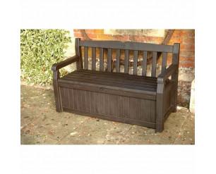 Keter Iceni Storage bench - Brown