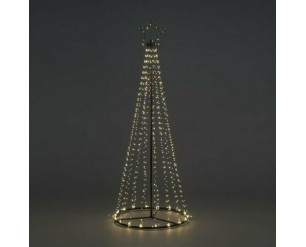 2.5m Maypole LED Tree - Twinkle Effect, 886 Warm White LED's - Indoor or Outdoor