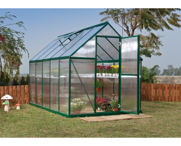 Palram Mythos Greenhouse 6x10 - Green