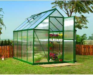 Palram Mythos Greenhouse 6x8 - Green