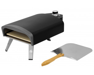 """13"""" Gas Fired Pizza Oven - With FREE Pizza Peel!"""