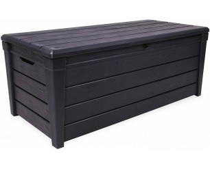 Keter Brightwood Storage box - Anthracite