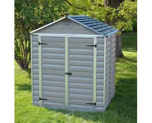 Palram Skylight Grey 6x5 shed
