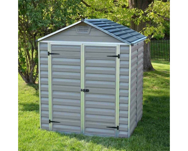 Palram Skylight Grey 6x5 shed