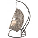 Cocoon Hanging Egg Chair Triple - cream