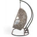 Cocoon Hanging Egg Chair Triple - Grey