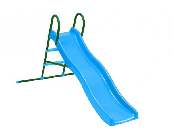 Starplast blue wavy slide