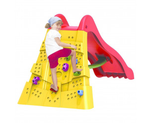 Starplast Slide With Climbing Wall
