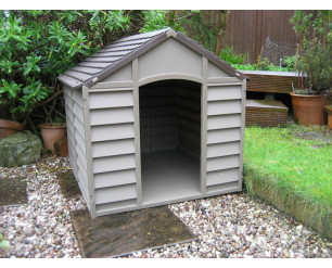 Starplast Small dog kennel - Brown