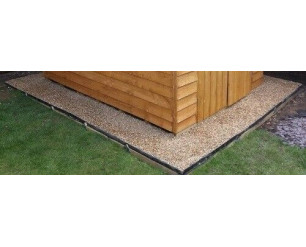 Shed Base/Path/Driveway Grid System - 6 x 10 Shed Base, 28 Grids, Total Size 200x350cm