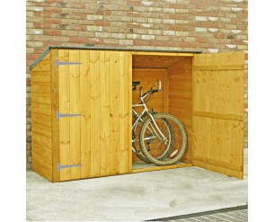Shire Pent Shiplap Bike Store No Floor