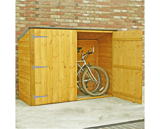 Shire Pent Shiplap Bike Store No Floor