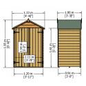 Shire Overlap Double Door 4x3