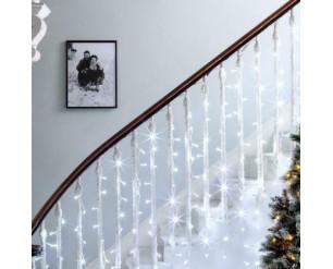 306 LED Curtain Fairy Lights Indoor/Outdoor Wedding Party Garden Decor Christmas ICE & WARM WHITE