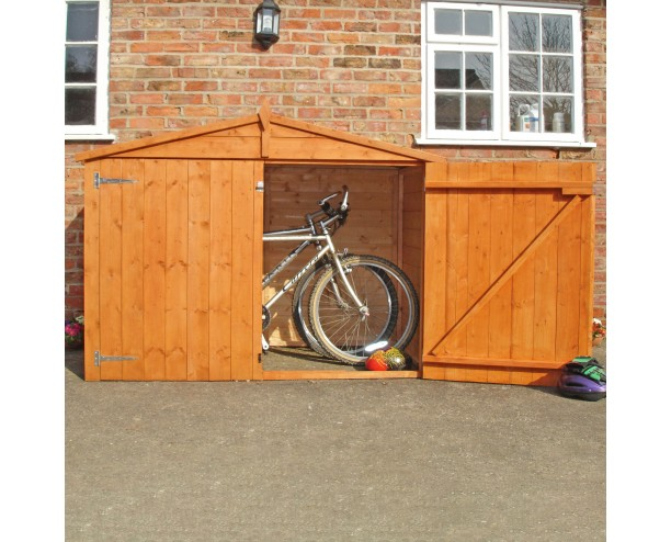 Shire Apex Bike Store Shiplap with floor