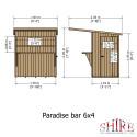 Shire Bar Pent 6x4