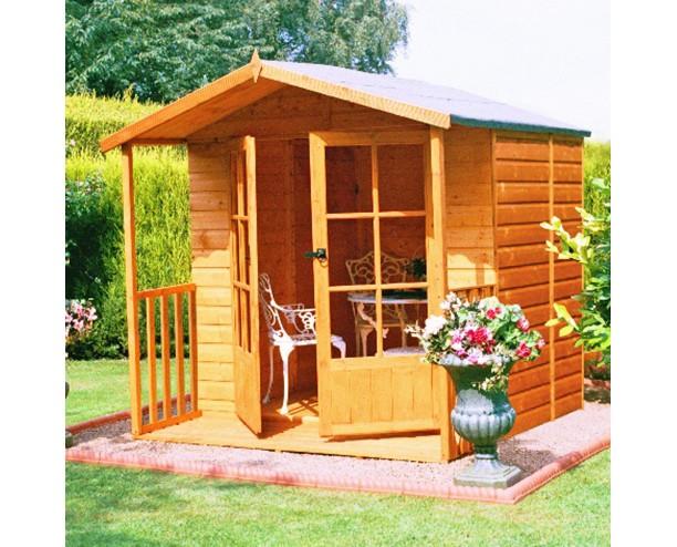 Shire Alnwick summerhouse 7x7