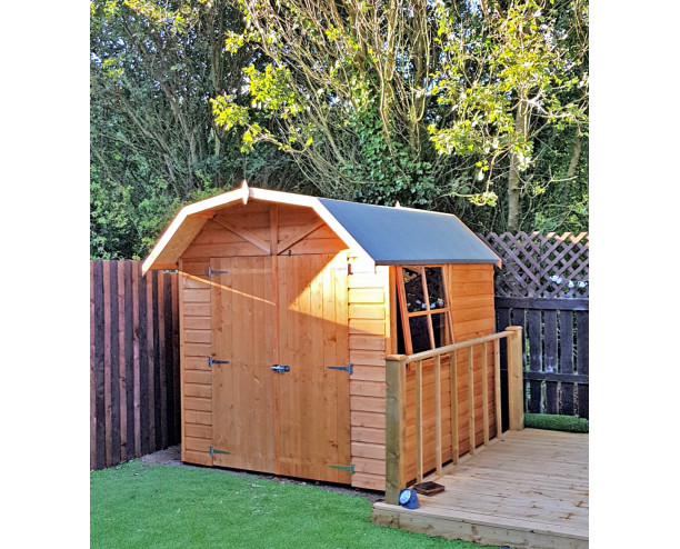 Shire Barn 7x7 shed