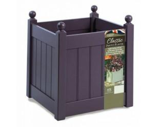"AFK Classic Painted Garden Planter Heavy Duty Plastic Liner 18"" Lavender"