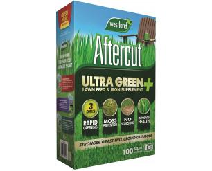 Aftercut 20400482 Ultra Green + Lawn Feed & Iron Supplement, 100 m2, 3.5 kg