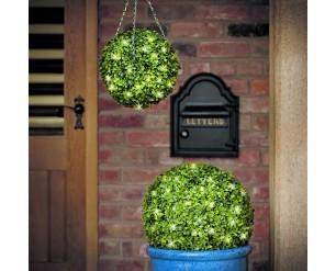 Gardman Buxus Topiary Ball 30cm Pre-lit