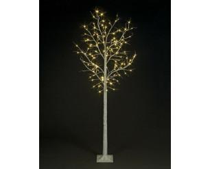 Christmas Birch Tree 1.8m with Warm White