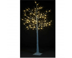 Christmas Birch Tree 4ft Twinkling LED's, In or Outdoor, Warm White