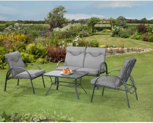 Candosa Garden Furniture - 4 Piece reclining lounge set