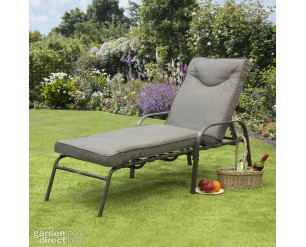 Candosa Garden Furniture - Sunlounger