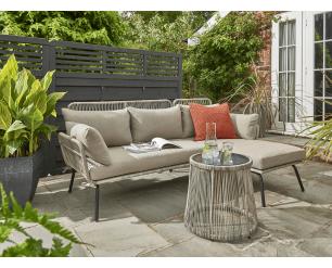 Elland Garden Furniture L Shape Handpicked by Norfolk Leisure