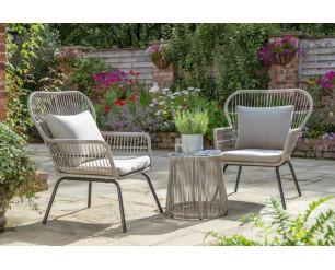 Elland Garden Furniture Bistro Set Handpicked by Norfolk Leisure