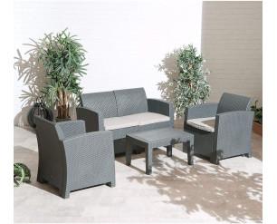 Florence Outdoor Garden Patio Lounge Set