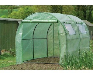 Gardman Polytunnel Greenhouse Reinforced Cover & Windows