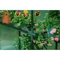 Gardman Greenhouse Growhouse Premium Walk-In 2 Shelves - 195cm x 143cm x 143cm