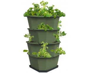 GSD Paul Potato Starter Potato Tower - Dark Green