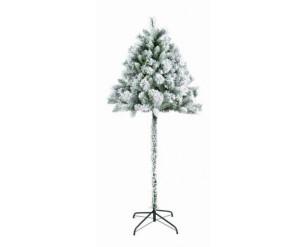 Half Parasol Christmas Tree Snowy Flocked 5ft (150cm)