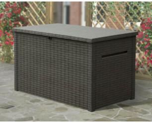 Keter Java Garden Storage Deck Box 230 Gallon - Brown